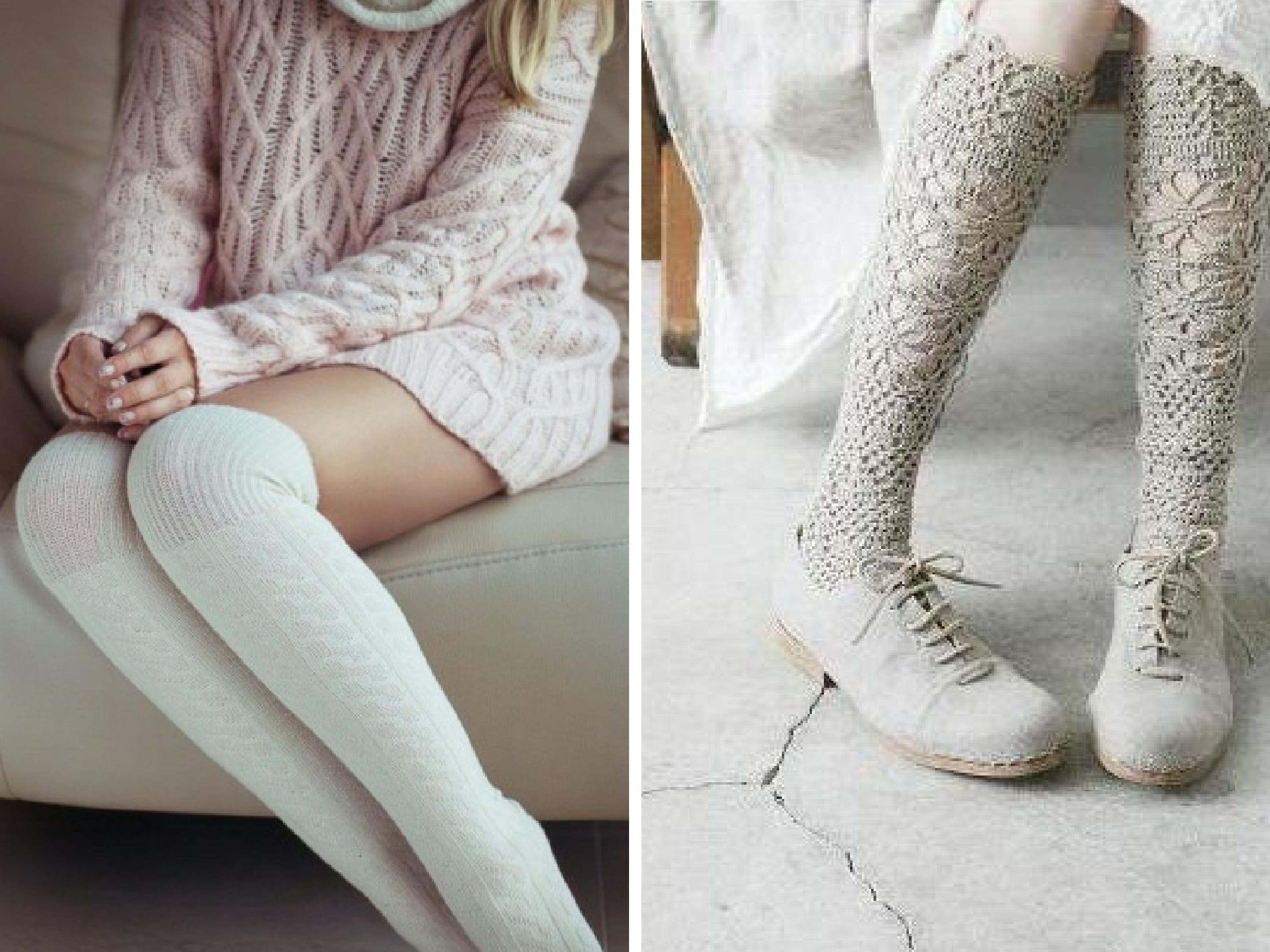 женские теплые чулки блог о нижнем белье Anamelcomua